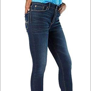 Levi's denizen denim jeans, mid rise slim